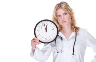 Caregiver on the Clock