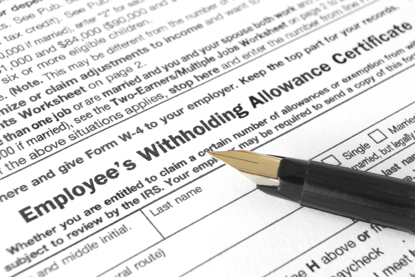 Employee Withholding Allowance
