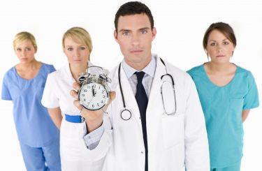 Nursing Stock on the Clock