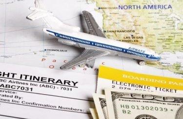 AirplaneItinaryMap
