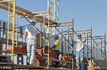 Construction scaffold injury