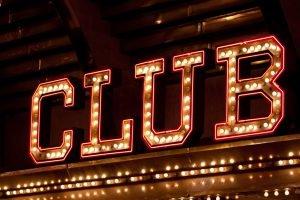 Neon Night Club Sign