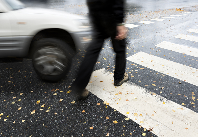 How can injured pedestrians recover damages?