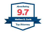 Matthew Curtis Avvo Badge 9.7